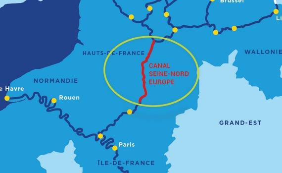 Sweco Bygger 107 Kilometer Lang Kanal I Frankrike Infrastrukturnyheter Se